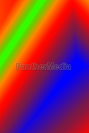 brilliantly colored abstract image