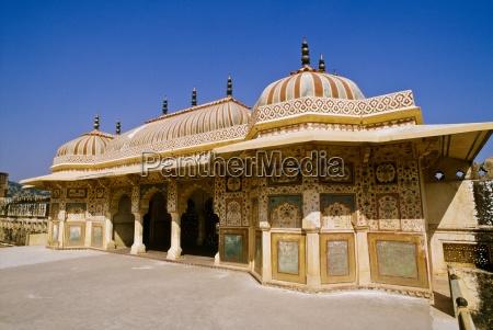 amber fort near jaipur rajasthan india