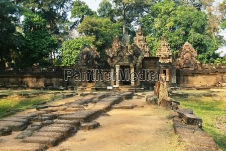 banteay srei tempelangkorkambodscha