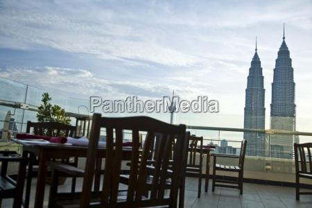 kuala lumpura capital city twin towers