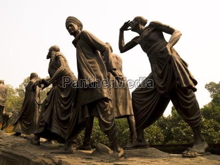 statue delhi india