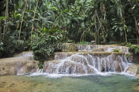 waterfalls in enchanted gardens ocho rios