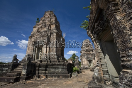 temple ruins in the ancient city