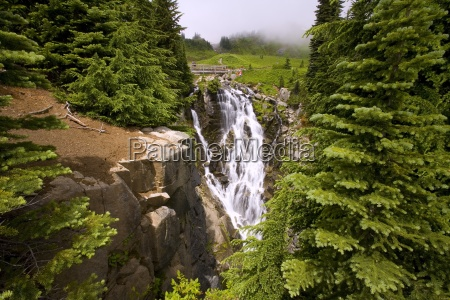 edit creek gorge mount rainier national