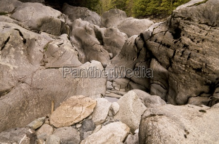 rocks in nairn falls whistler british