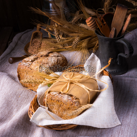 a delicious homemade wholemeal rye bread
