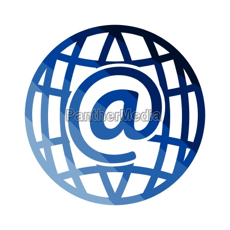 global e mail icon