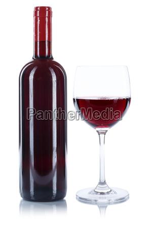 weinflasche weinglas wein flasche glas rotwein