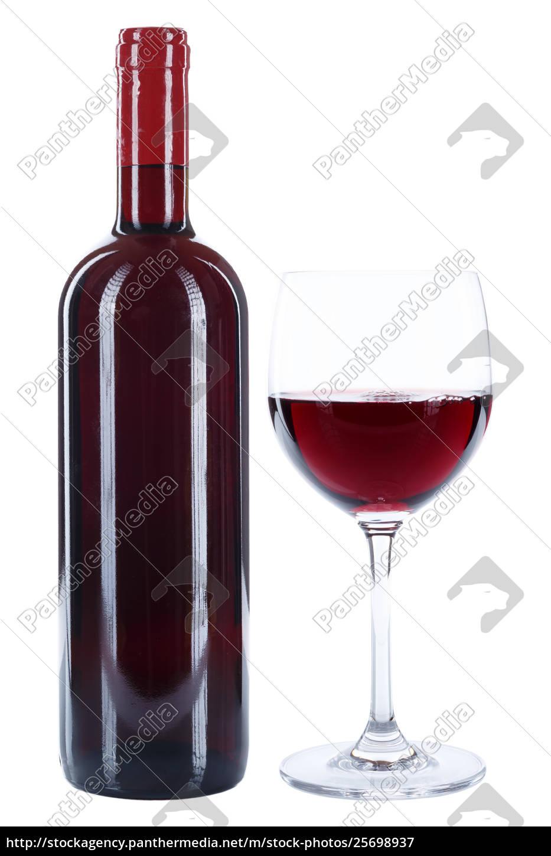 weinflasche weinglas wein flasche glas rotwein alkohol lizenzfreies bild 25698937. Black Bedroom Furniture Sets. Home Design Ideas