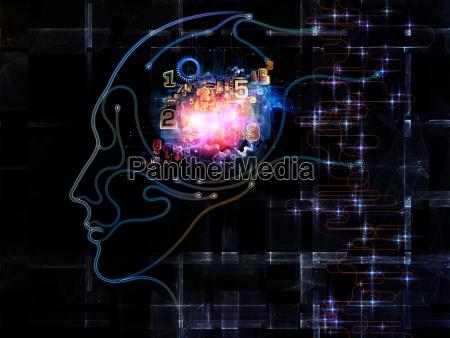 visualisierung des maschinenbewusstseins