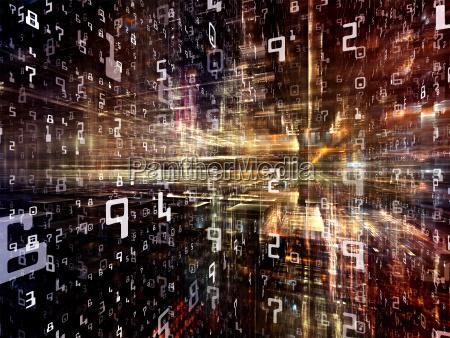 metaphorischer digitaler raum
