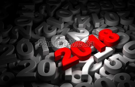 neujahr 2018 und olds
