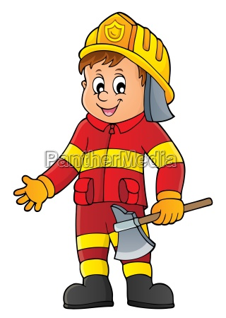 firefighter man image 1