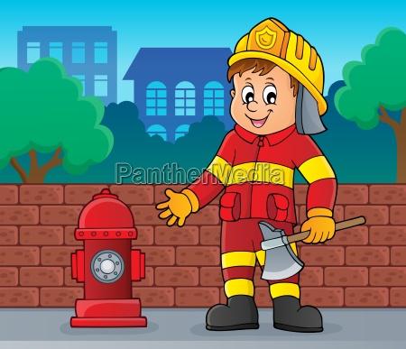 firefighter man image 2