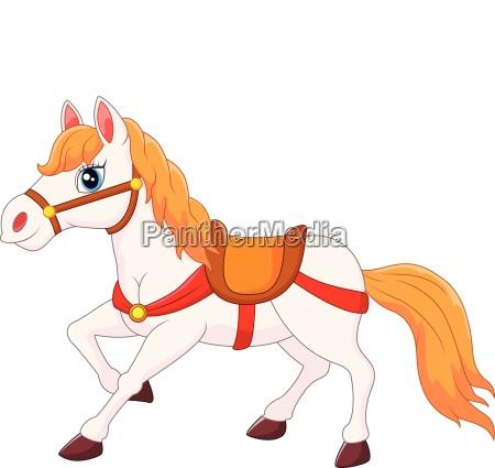 froehliche pferdekutsche