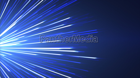 abstract blue background with glowing light