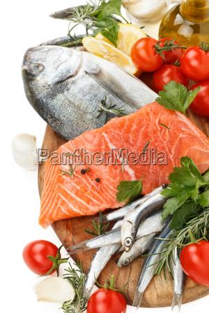 fresh fish collection