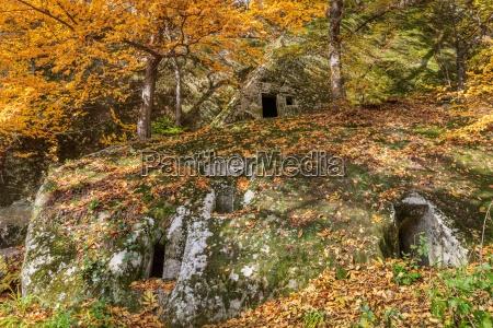 cave hermitage from alunis romania