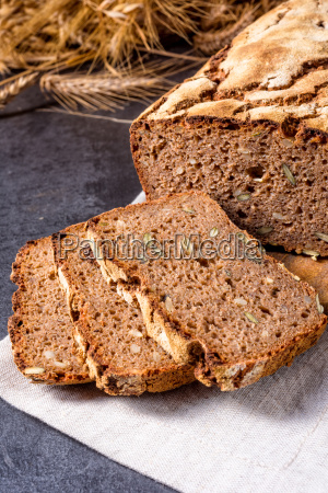 delicious and healthy home made wholegrain
