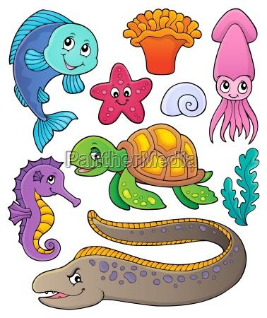 sea life theme collection 1