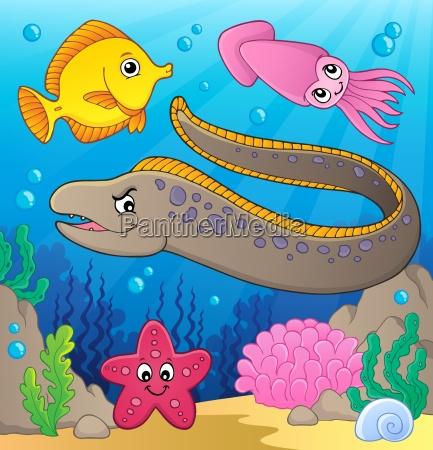 sea life theme image 2