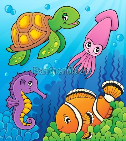 sea life theme image 3