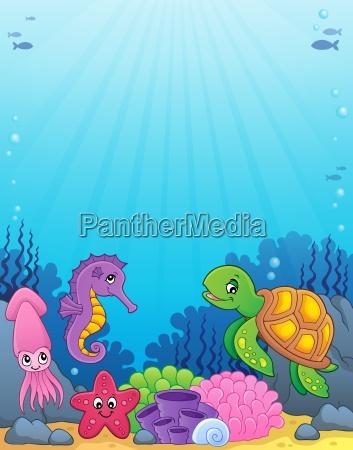 sea life theme image 4