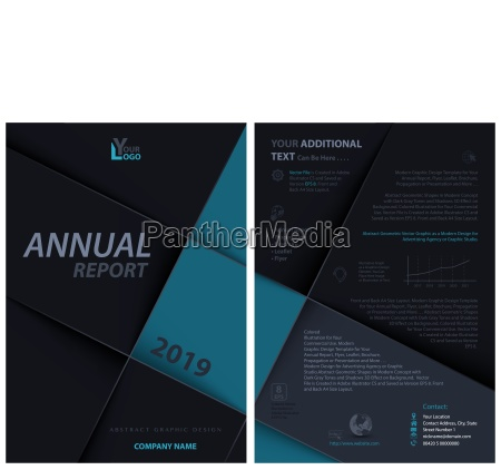 dark leaflet template with layered squares
