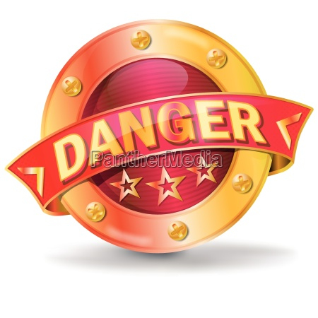 button with danger or danger