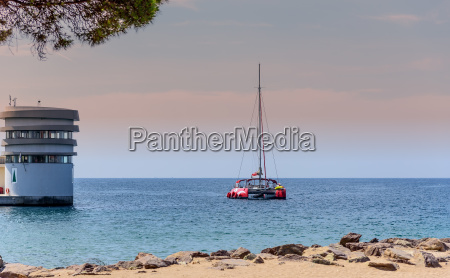yacht captain building mediterranean saint raphael