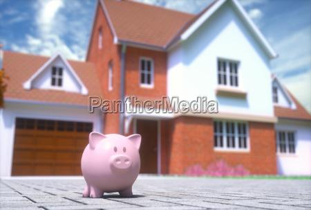 piggy bank home finance