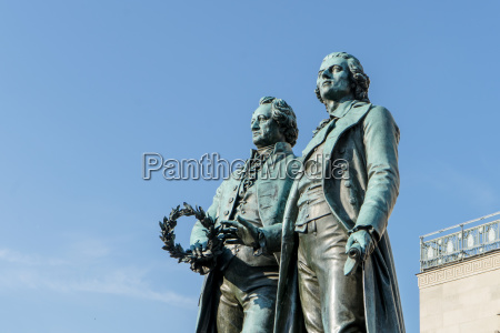 goethe and schiller in weimar