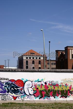 graffiti an der berliner mauer