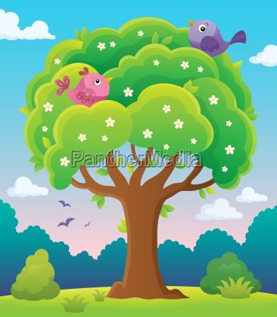 springtime tree topic image 5