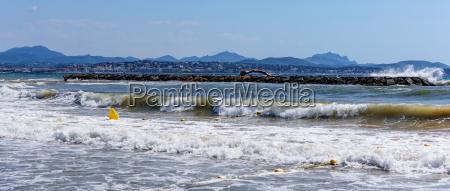 breakwater trunk mediterranean sea buoy