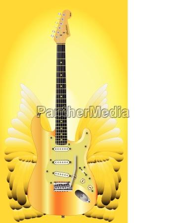 golden wings gitarre