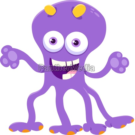 fantasy monster character cartoon illustration