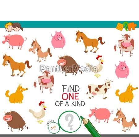 find one farm animal of a