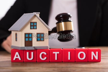house model over auction cubic blocks