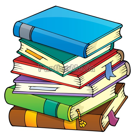 stack of books theme image 1