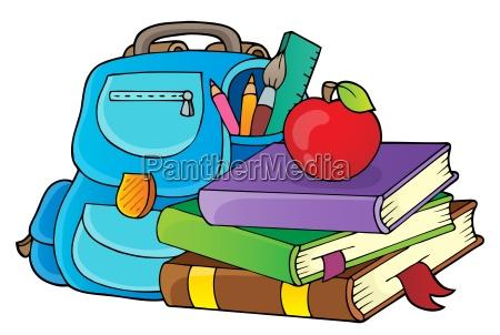 school equipment theme image 1