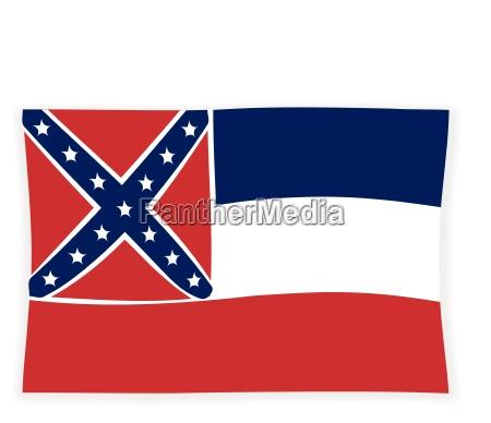 usa amerika fahne flagge staat bundesland