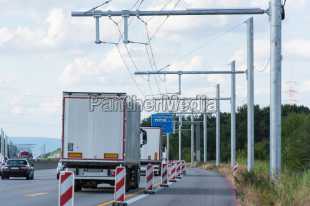new building of ehighway in germany