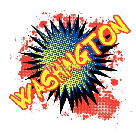 washington comic exclamation