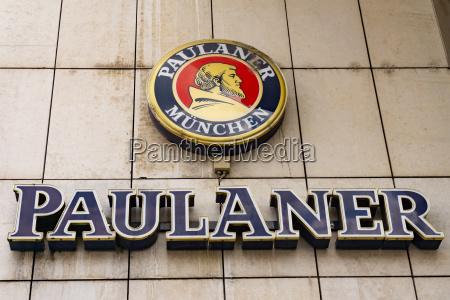 paulaner bier logo