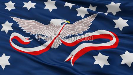 whisky rebellion flag closeup