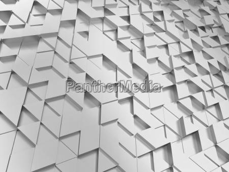 abstraktes dreieck muster
