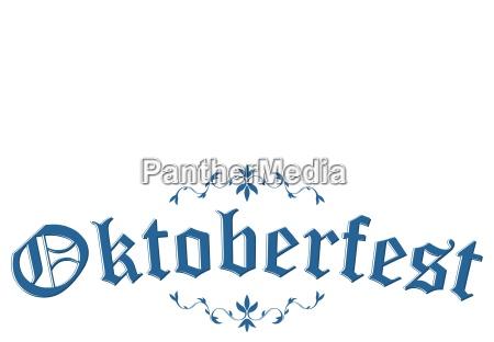 titel mit text oktoberfest 2018