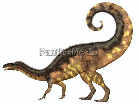 plateosaurus dinosaurier schwanz
