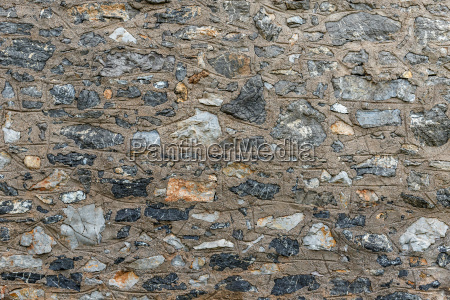 uneven stone wall